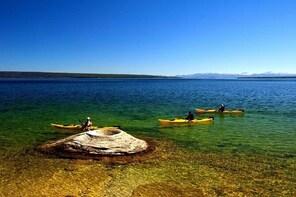 Kayak Day Paddle on Yellowstone Lake