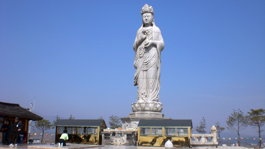 Show item 3 of 5. tall statue of woman in seoul