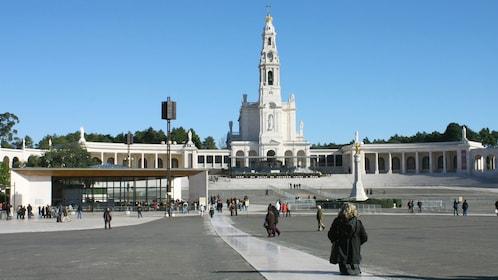 visiting the Fatima perish in Portugal