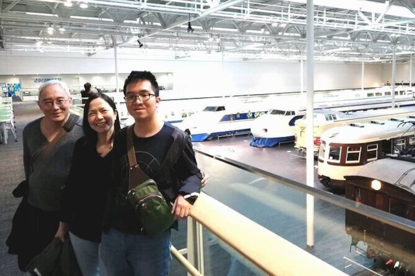 Guided Half-day Tour(PM) to Toyota Commemorative Museum & SCMAGLEV Railway Park