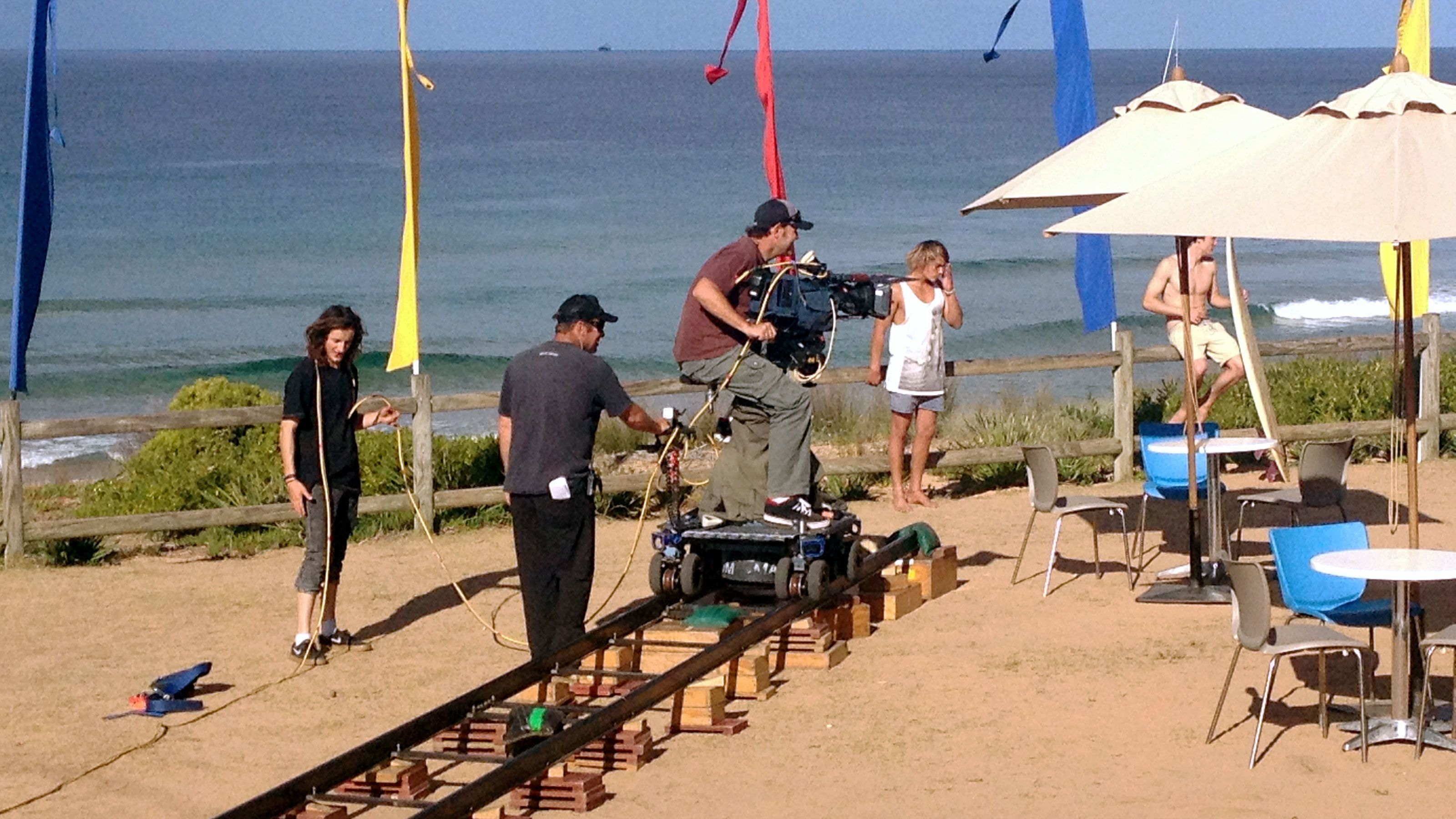 On site view of the filming location of famous TV show Home and Away in Australia