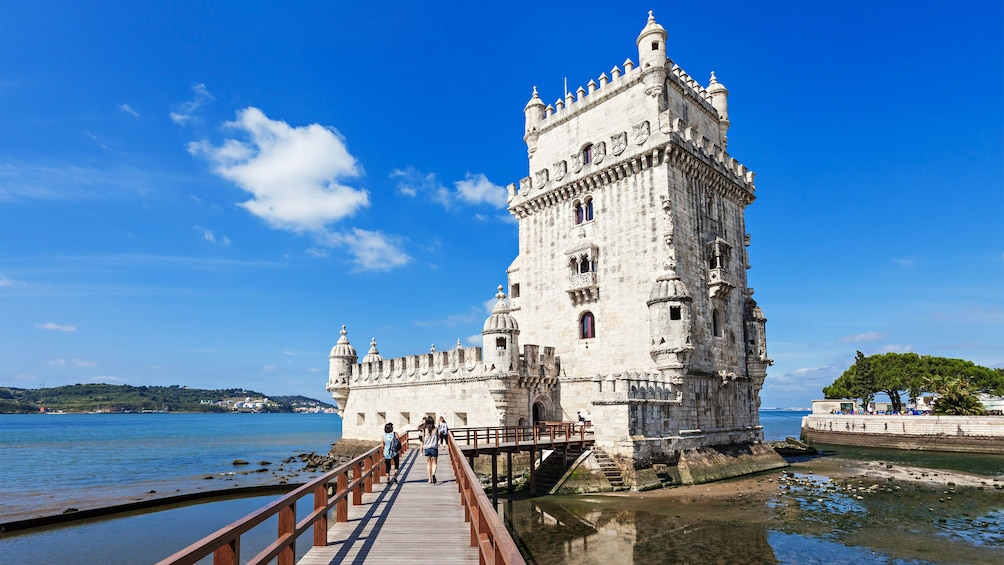 visit the Belém Tower in Portugal