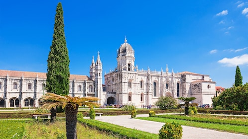 visit the Jerónimos Monastery in Portugal