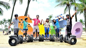 聖淘沙島 Segway Eco Adventure 之旅