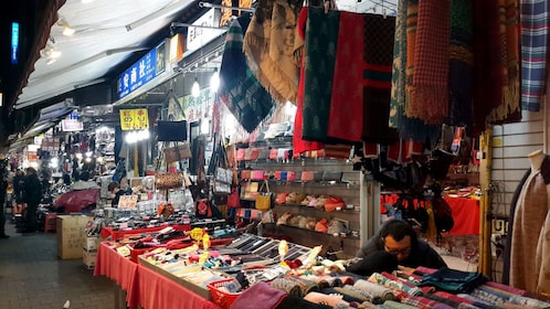 market booths in seoul