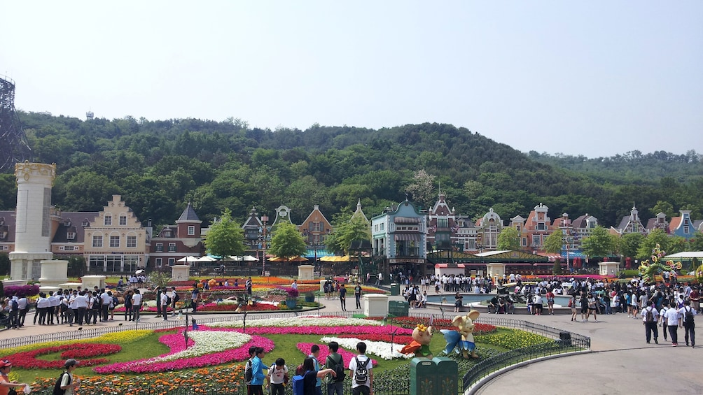 แสดงภาพที่ 5 จาก 5 Panoramic view of Everland Theme Park in South Korea