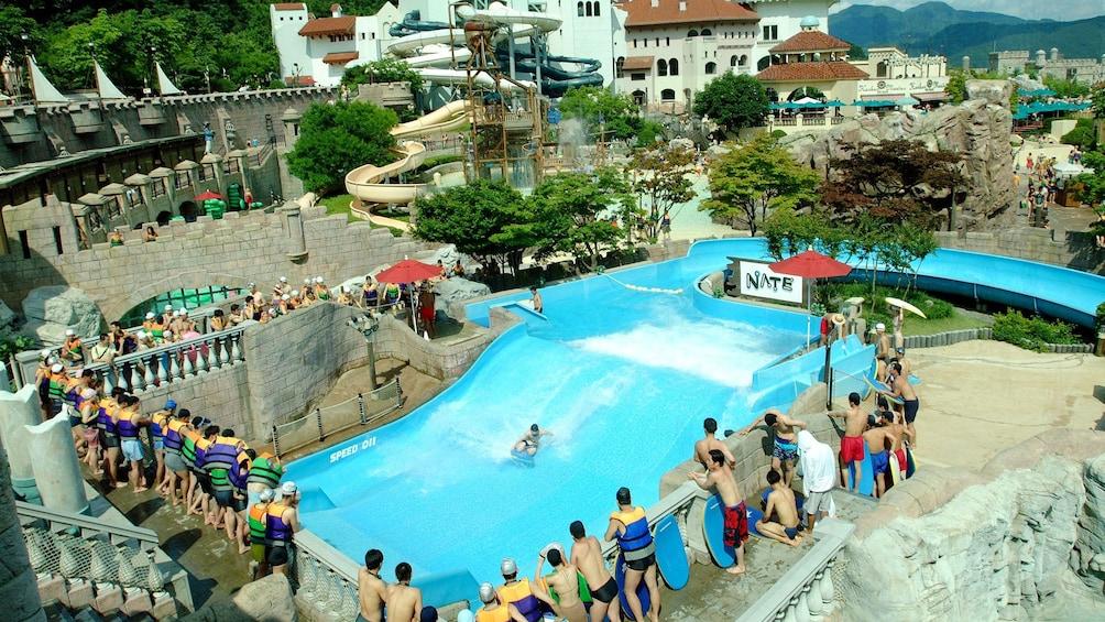 Carregar foto 3 de 5. water park aerial in seoul