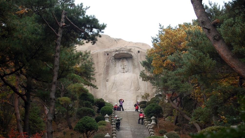 แสดงภาพที่ 3 จาก 5 stairs to carved stone in seoul