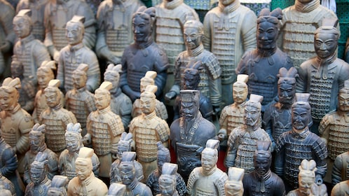 Warrior figurines in Guangzhou