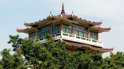 Traditional Chinese structure in Hong Kong