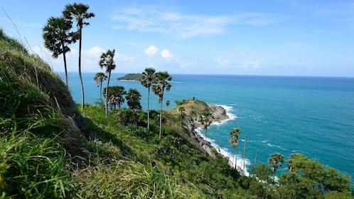 Lush coastline in Phuket