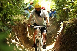 Private Lombok Cycling Tour: Lombok Coffee Plantation and Temple