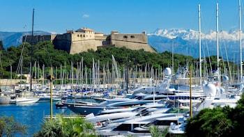 Visite d'une demi-journée en petit groupe de Cannes, Juan-les-Pins et Antib...