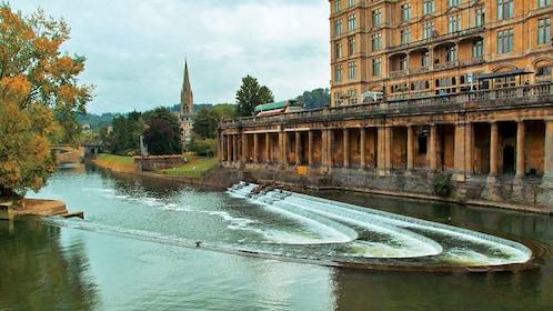 river channel in Bath England