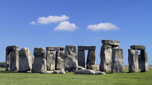stone structures at Stonehenge in England