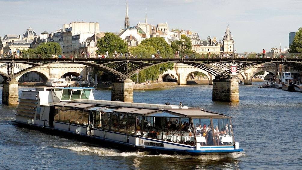 Show item 2 of 10. Sailing down the Seine in Paris