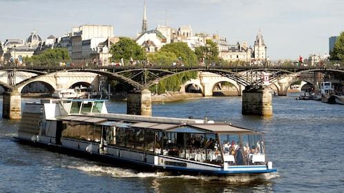 Sailing down the Seine in Paris