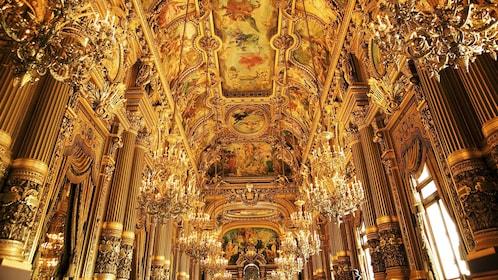 Inside the Opera Garnier in Paris