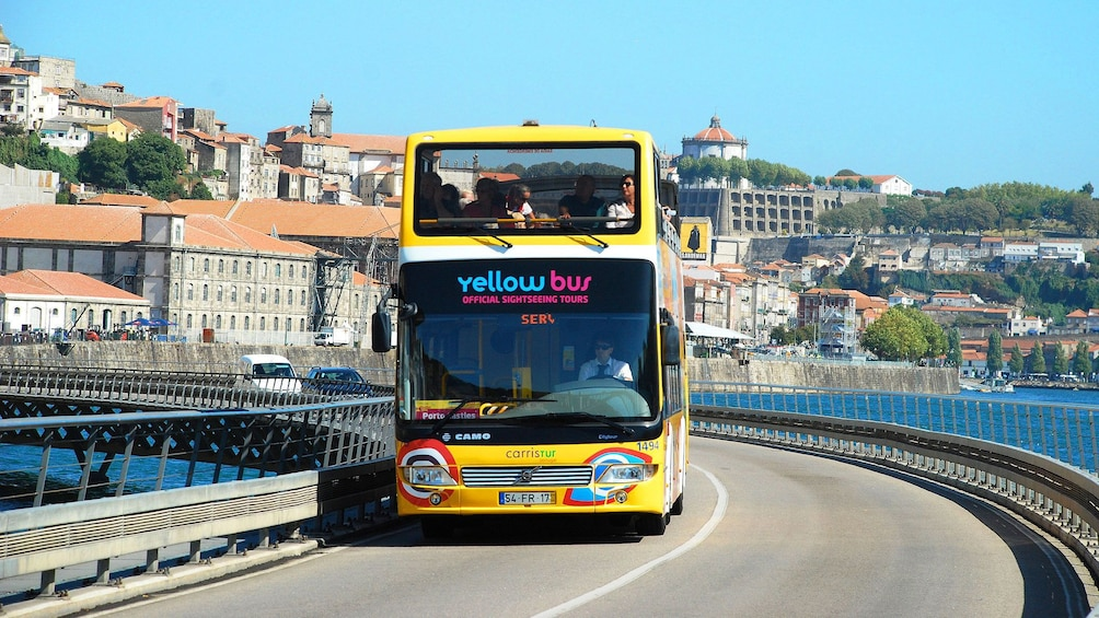 Show item 6 of 6. Hop-On Hop-Off bus in Porto