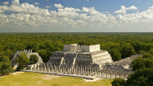 Temple of a Thousand Warriors at Chichen Itza