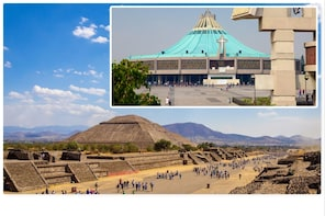 Teotihuacan, Tlatelolco, Guadalupe Shrine & Tequila Tasting