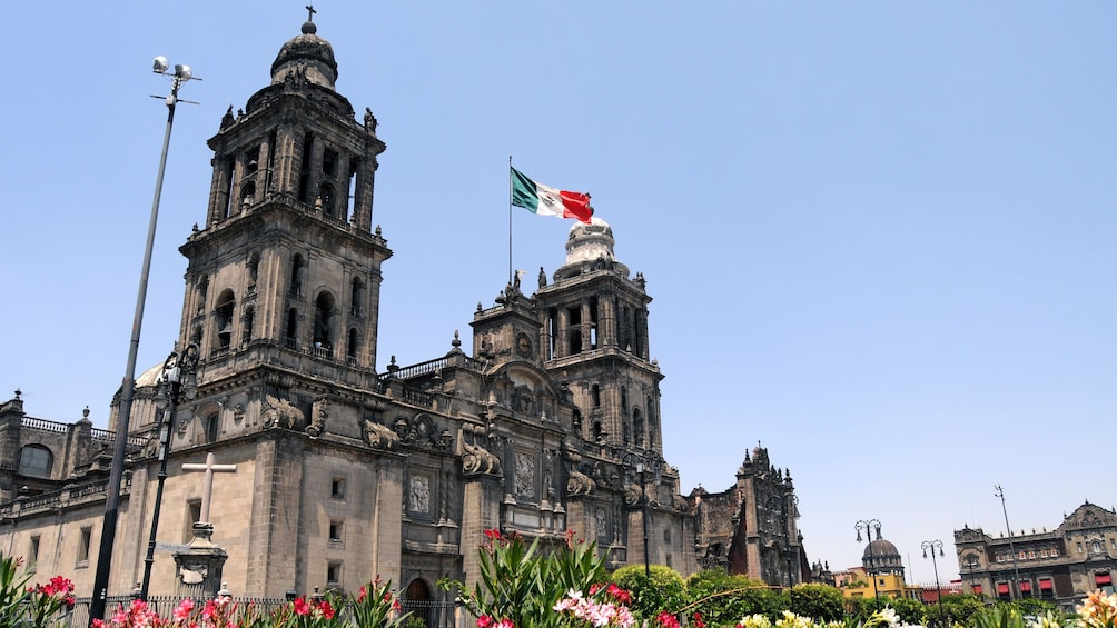 Show item 1 of 9. The Mexico City Metropolitan Cathedral in Mexico City