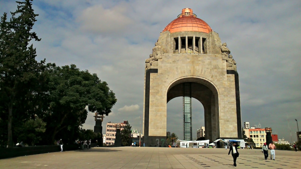 Show item 9 of 9. Monument to the Mexican Revolution in Mexico City