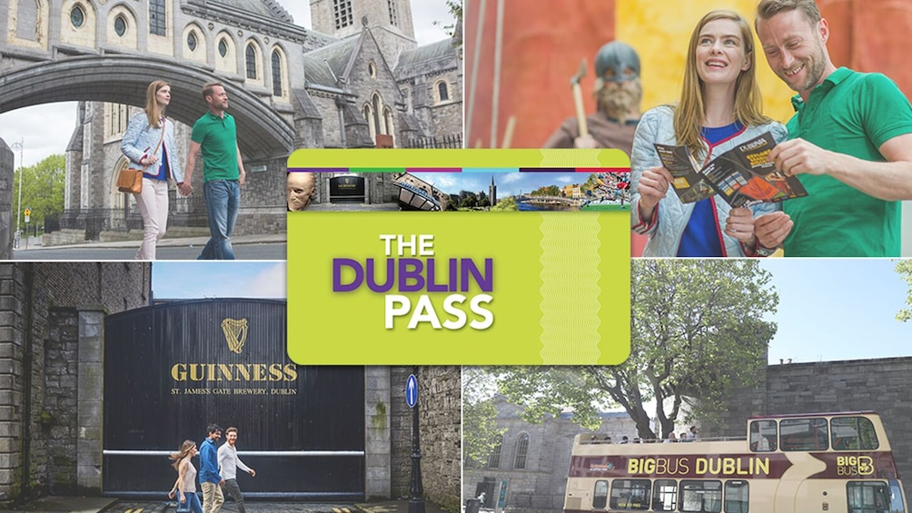 Show item 1 of 10. The Dublin Pass: 30+ Top Attractions on 1 Card