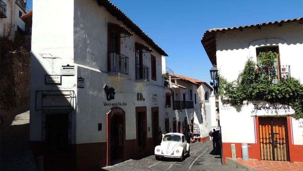Show item 2 of 10. Pristine white buildings in Taxco