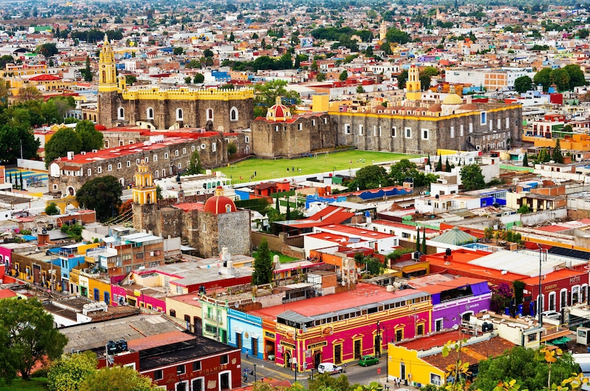 Show item 10 of 10. Puebla & Cholula