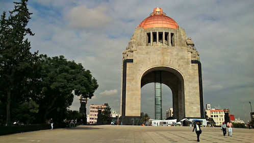 Monument to the Mexican Revolution in Mexico City