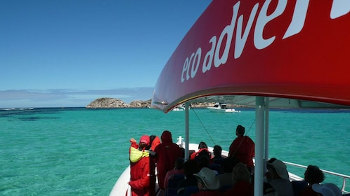 View from tour boat off Rottnest Island