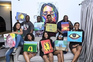 Sip & Paint at The Metaphor in Lagos