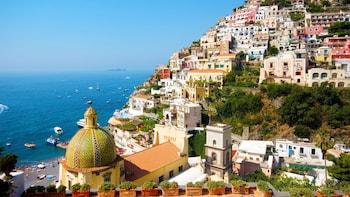 Visite de Positano et de la côte amalfitaine en petit groupe par le train à...