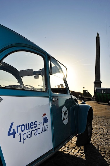 Show item 3 of 8. Sightseeing of Paris in a Vintage 2CV Car 45min