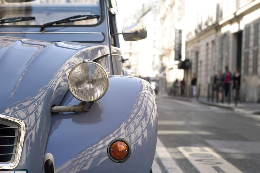 Show item 2 of 8. Sightseeing of Paris in a Vintage 2CV Car 45min