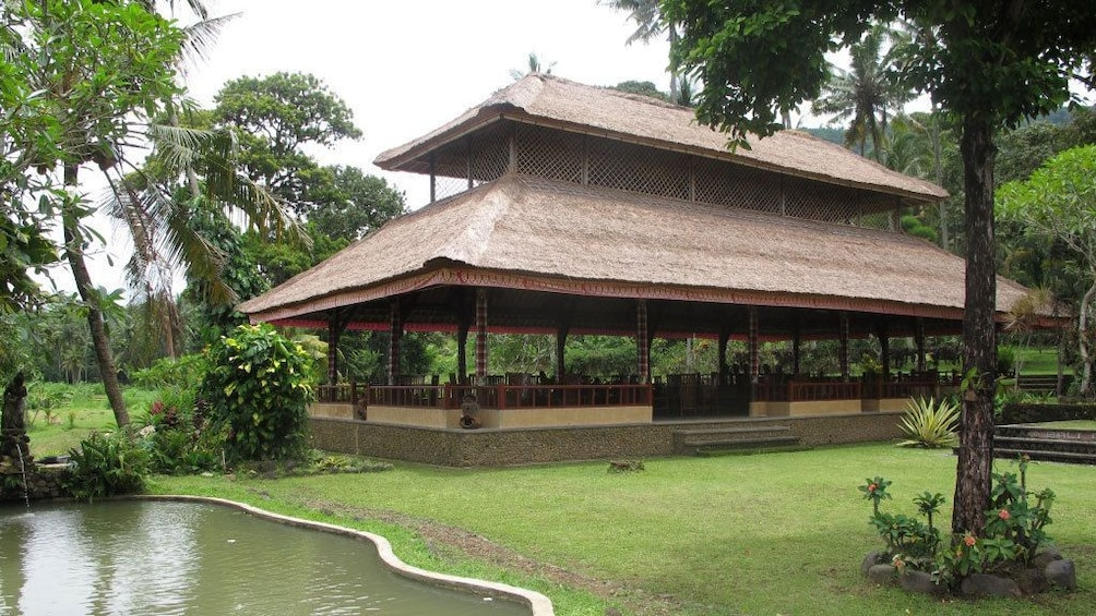 A pagoda in the countryside of Bali