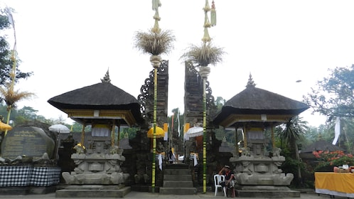 Stone carved shrines at Gunung Kawi temple in Bali