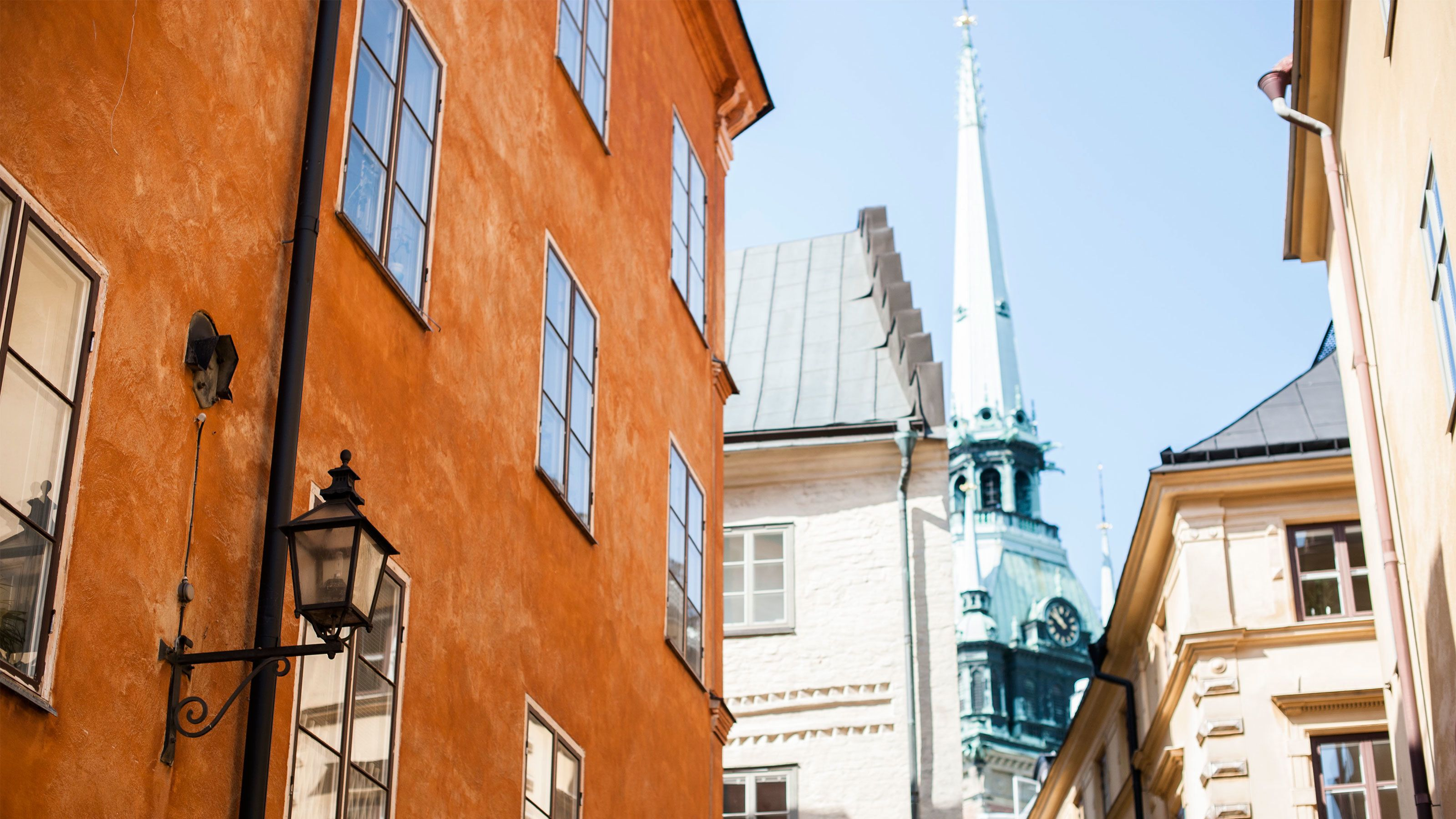 Historic buildings in Stockholm