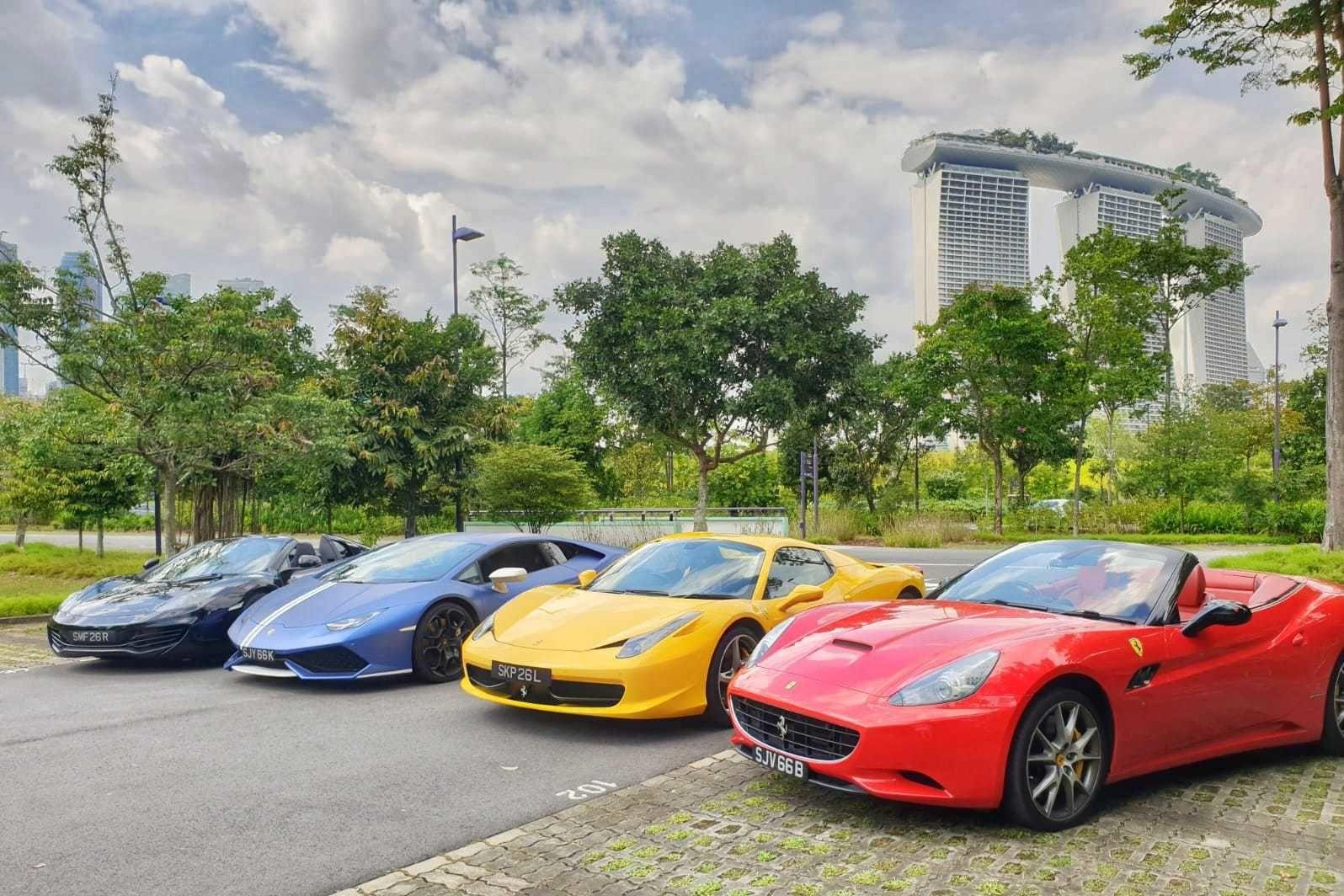 Fahrerlebnis auf Singapurs Formel-1-Rennstrecke