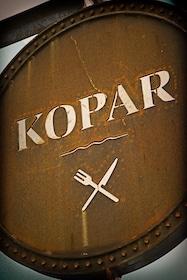 Kopar Restaurant Lunch or Dinner