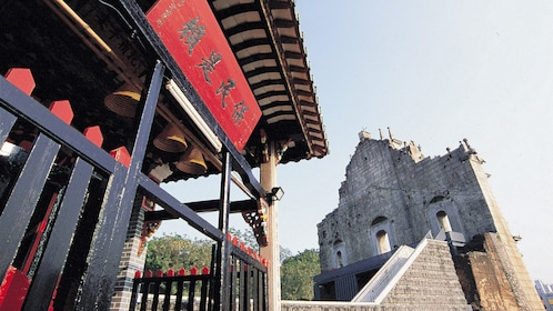 Old temple in macau