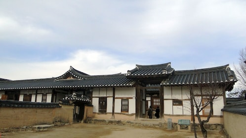 View of the Andong Museum in Busan