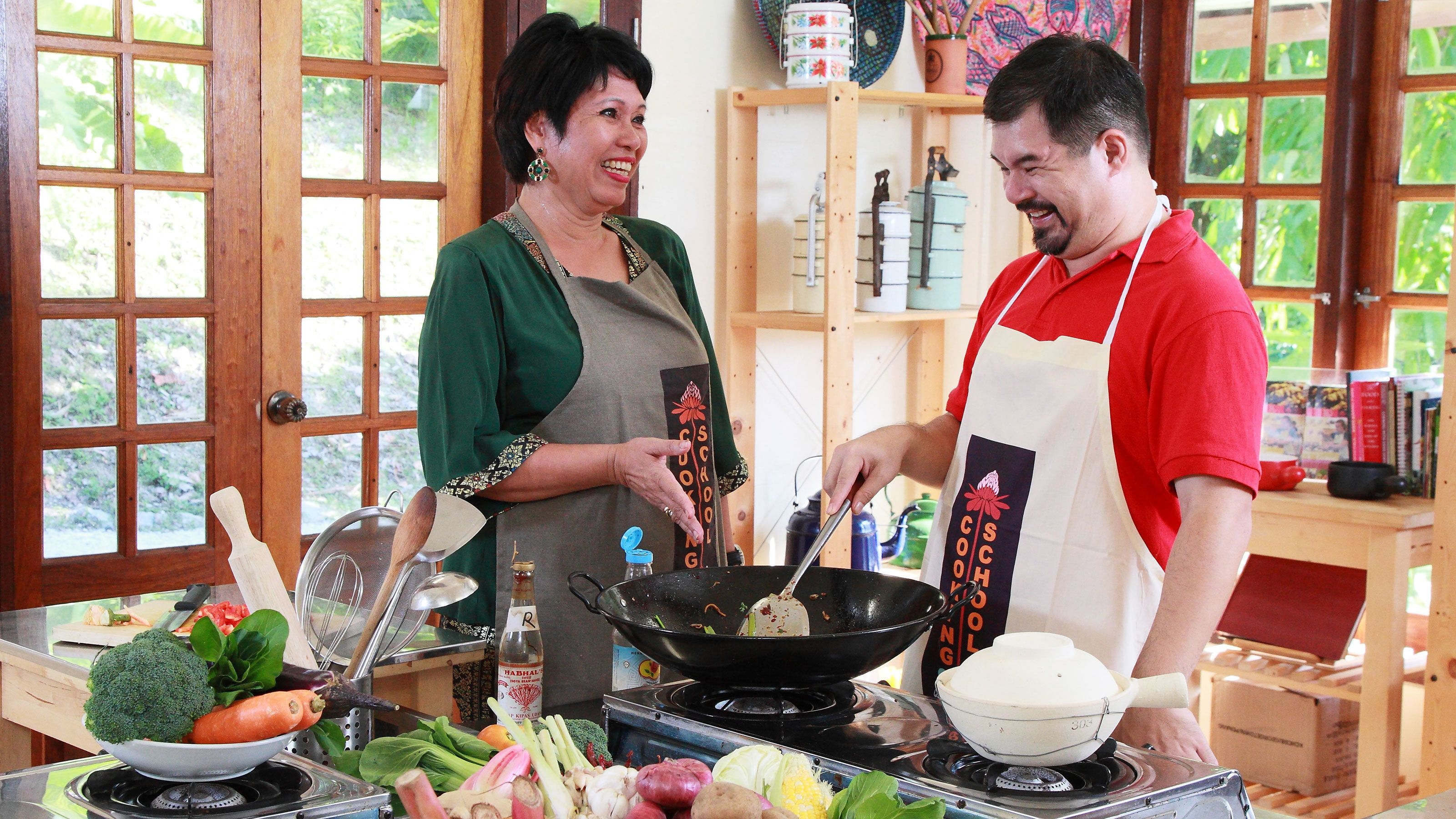 Learning how to cook in Malaysia