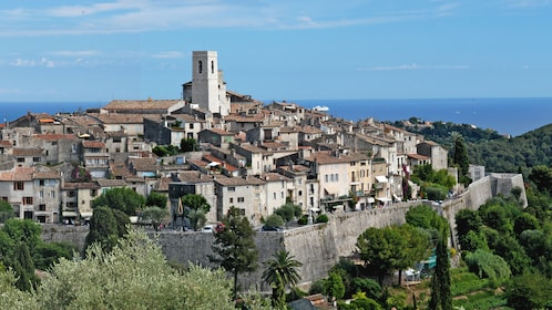 The town of Antibes in France