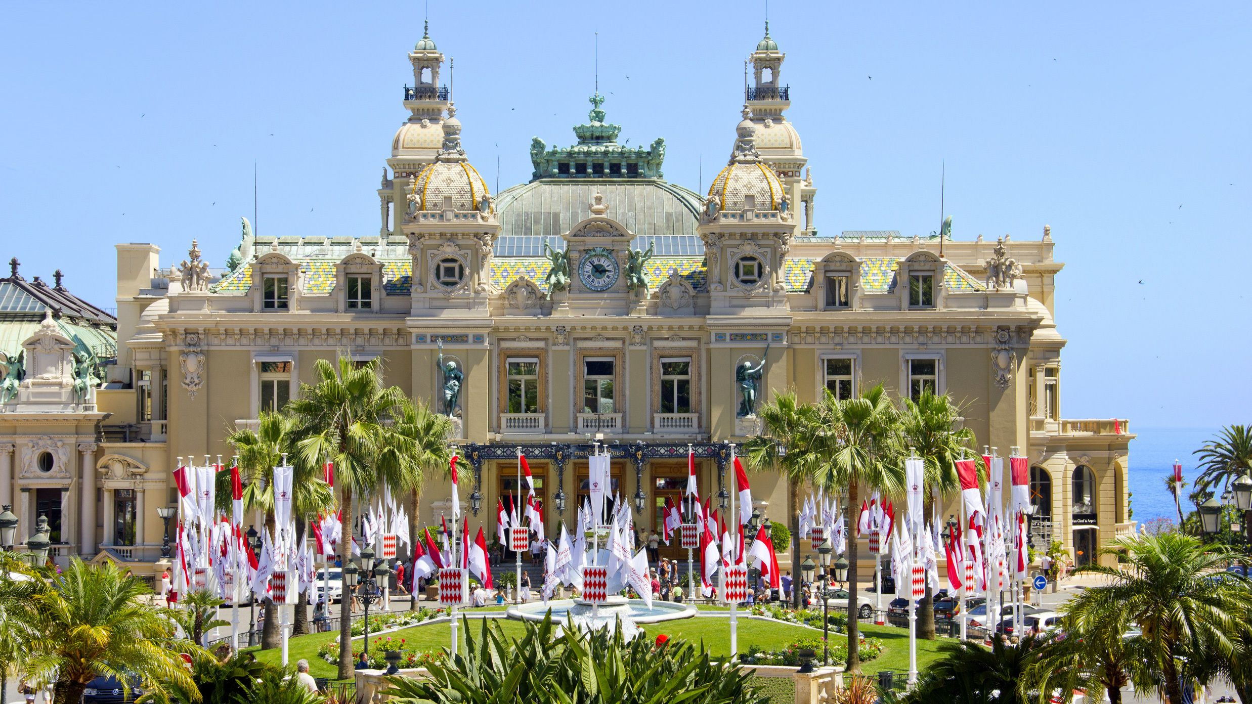 Visiting the Monte Carlo Casino in France