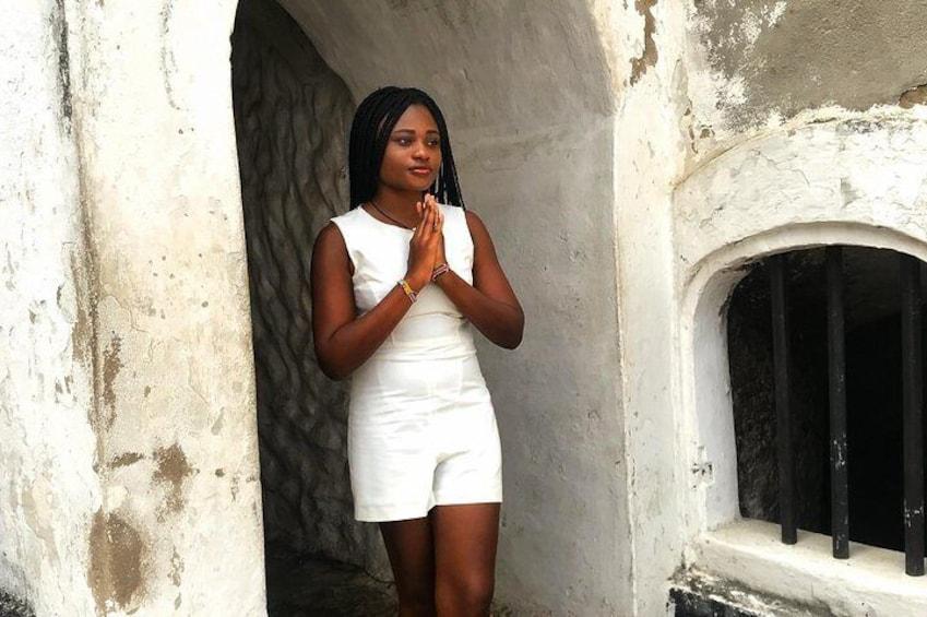Me at Elmina castle