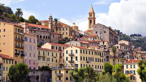 Visiting the charming French town of Menton in Cannes
