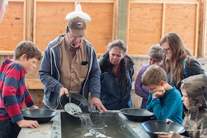 Gold Panning Experience right in downtown Skagway!