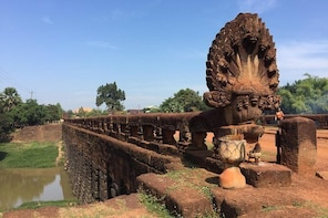 Private One Day Tour To Sombo Prei Kuk, Kompong Kdey Bridge and Kompong Kle...